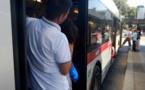 Le Sénégalais faisait du « rissou » dans un bus à Rome