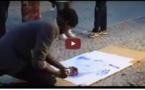 Incroyable (Vidéo) : Il dessine Waly Seck en 5 minutes . . . . Regardez !