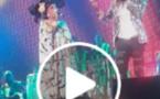 (Vidéo) :Bercy – Wally Seck ne veut pas que Kiné Lahm touche à son micro