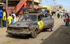 Sandaga: Des policiers crèvent les pneus des taxis clandos