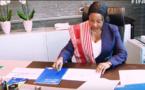 Vidéo- FIFA : Les images de la prise de fonction de Fatma Samoura