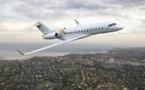 Karim Wade a embarqué à bord d'un jet privé de type Bombardier Global 6000