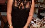 ( 2 Clichés ) Aïda Samb s'affiche en noir … elle prouve qu'elle est bien gâtée par Dame nature