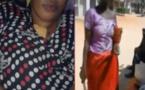 Vidéo: Une folle sème la pagaille dans les rues de Fass Mbao et poignarde une dame