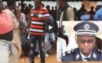Vidéo: Quand Mandoumbé fait le clown devant le Commissaire de Police de Pikine