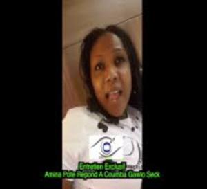 EXCLU: Amina pote clash Coumba gawlo seck