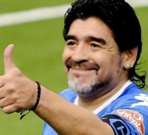 Diego Maradona annoncé à Dakar