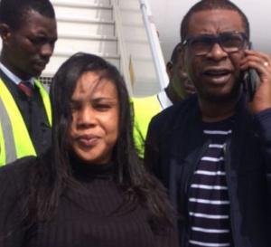 PHOTOS - Amina Pote prend encore le vol en compagnie de Youssou N'dour pour la…