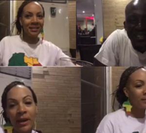 Après une longue absence, Assane Diouf revient avec son épouse