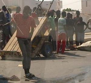 Kaffrine: Ablaye Cissé percute une charrette et tue la coépouse de sa mère