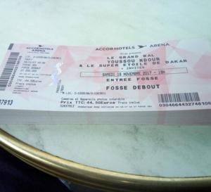 Bercy 2017 : Youssou Ndour dévoila les billets du Grand bal de Bercy
