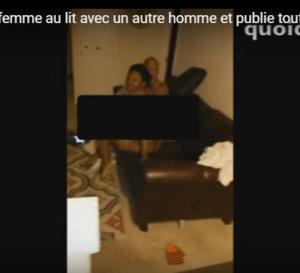 VIDEO: Il surprend sa femme au lit avec un autre homme et publie toute la scène