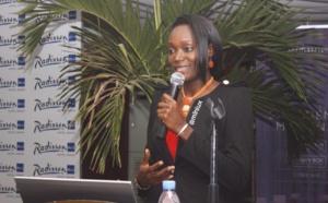 Obama sous le charme de la jeune Sénégalaise Awa Caba