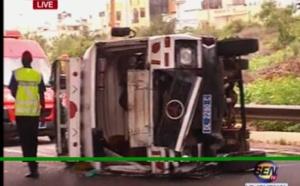 Vidéo- Grave accident à hauteur de Colobane: Plusieurs blessés graves