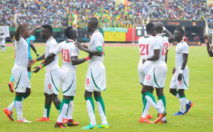 SENEGAL-NAMIBIE-FOOTBALL-CAN ELIMINATOIRES CAN2017 : LES LIONS RÉALISENT CARTON PLEIN EN BATTANT (2-0) LA NAMIBIE