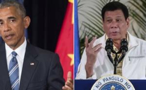 Le président philippin traite Obama de fils de p... qui annule leur rencontre bilaterale