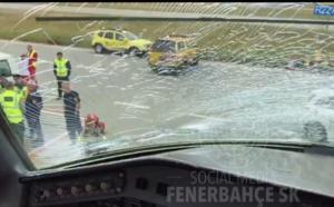 Fenerbahçe: Moussa Sow et ses coéquipiers sains et saufs après un atterrissage d'urgence à Budapest