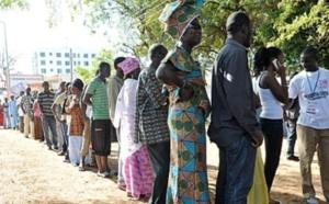 Le scrutin gambien