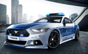 En Allemagne, la police roule... en Ford Mustang