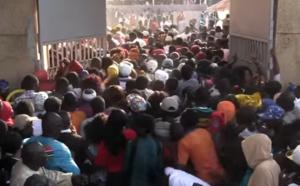 Vidéo choc – Fête de l'indépendance de la Gambie la bousculade évitée de justesse…Regardez