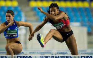 Nouveau record pour Nafi Thiam, championne de Belgique du 60m haies