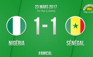 Le Sénégal et le Nigeria se neutralisent (1-1)