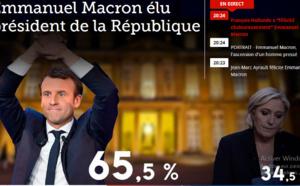 FRANCE: Emmanuel Macron élu président de la République