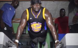 Vidéo: L'incroyable entraînement de Balla Gaye 2…Regardez