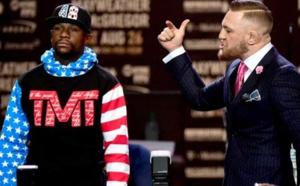 Floyd Mayweather dédie son combat contre McGregor à la communauté noire a cause des propos racistes raciste de son adversaire