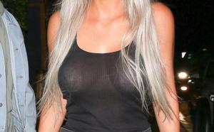 PHOTOS - Kim Kardashian sort dans la rue sans soutien-gorge, elle a été trahie par les…