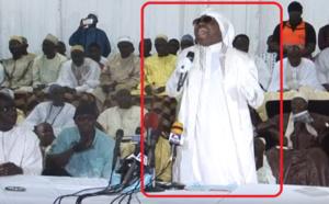 Vidéo – Serigne Modou Kara tombe en transe à la mosquée Massalikul Jinaan
