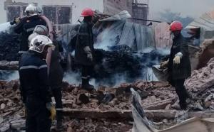 Images # Incendie au Parc Lambay