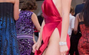 PHOTOS. Bella Hadid presque nue malgré sa robe sur le tapis rouge du Festival de Cannes