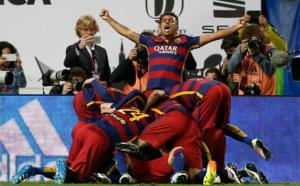 VIDEO - Le FC Barcelone remporte la Coupe du Roi contre Séville et s'offre le doublé
