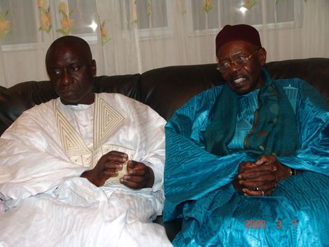 [ VIDEO - PHOTOS ] VISITE DE IDRISSA SECK A TIVAOUANE