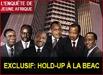 Exclusif : hold-up à la BEAC