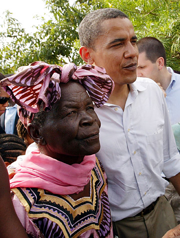 La grand-mère d'Obama dit merci à Kaddafi
