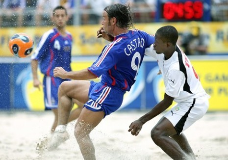 [PHOTOS] BEACH SOCCER: La France bat le Sénégal en quart de finale (6-3)
