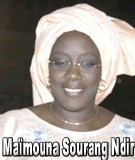 FLASH SUR... Maïmouna Sourang Ndir