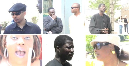 [ VIDEO ] MANIFESTATION CONTRE WADE A CHICAGO: Talla Sylla chante les ''louanges'' du president Wade