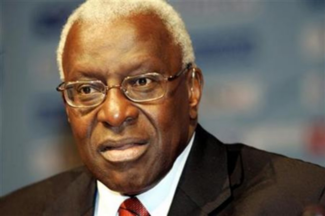 Lamine Diack: « Je sais qu'à Dakar on m'attend »